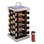 Your kitchen spice rack options mad progress for Carousel spice racks for kitchen cabinets