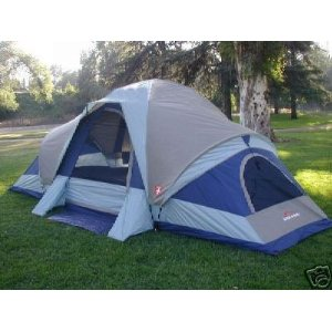 Suisse Sport Wyoming 3 Room Family Dome Tent