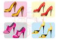 light gold shoes