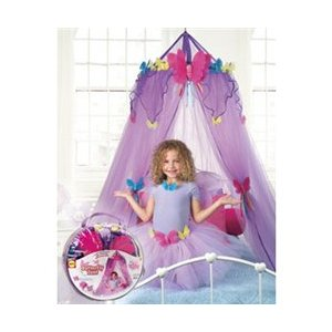 Build A Little Girl's Dream Room With A Butterfly Bed Canopy