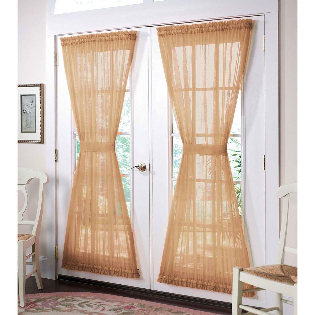 Выбираем декоративные шторы на дверной проем гид по дверям.