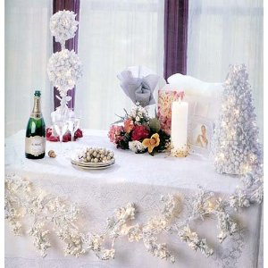 winter wedding centerpieces and decorations