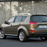 7 Seater Crossover: Citroen C-Crosser from Mitsubishi