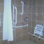 handicapped shower