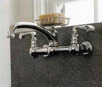 Installing a Wall Hung Kitchen Faucet