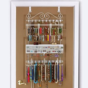 cheap over the door jewelry organizer