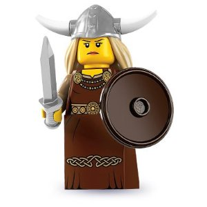 lego toy viking woman picture