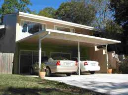 custom built carport