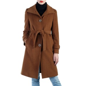 cashmere blend wool trench coat