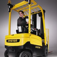 Hyster electric forklift truck batteries