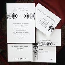 contemporary wedding invitation sets