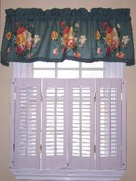 country window valances