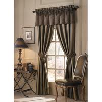 silk curtains and curtain rods