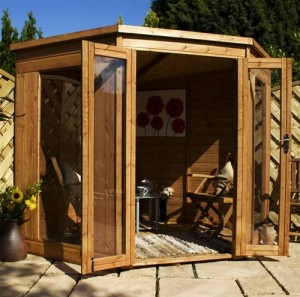 European Wooden Summer House Ideas