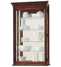 On Buying a Wall Curio Cabinet
