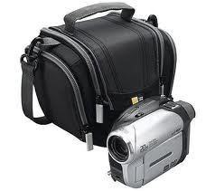 high definition camcorder with case