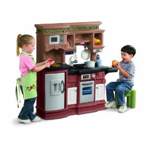 Kids Play and Learn With A Kids Kitchen Set