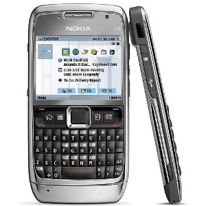 Nokia straight talk E71 smart phone
