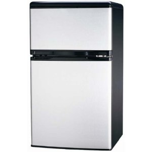 small fridge with freezer
