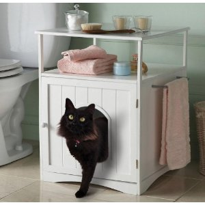Popular Cat Litter Box Furniture