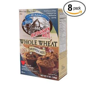 whole wheat muffins mix