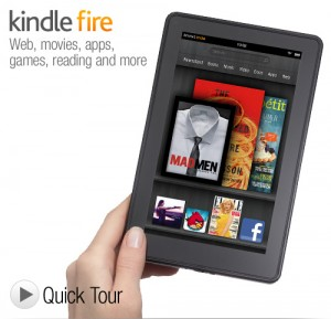kindle fire 4th generation color ebook reader