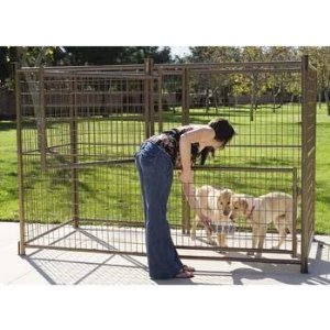 Outdoor Dog Kennels and Cages
