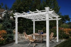 Make Your Backyard Beautiful with Vinyl Pergola Kits
