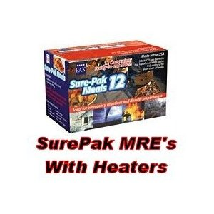 mre meal kit with heater