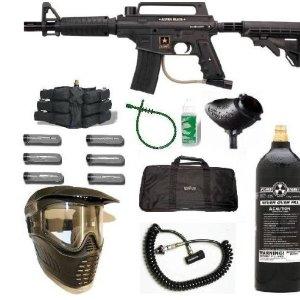 image of Tippmann paintball gun set for sale