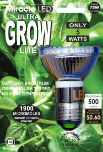 LED grow light image