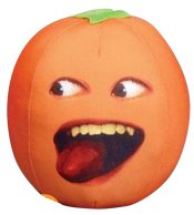 annoying orange plush talking toy