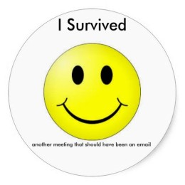 i survived another meeting that should have been an email image